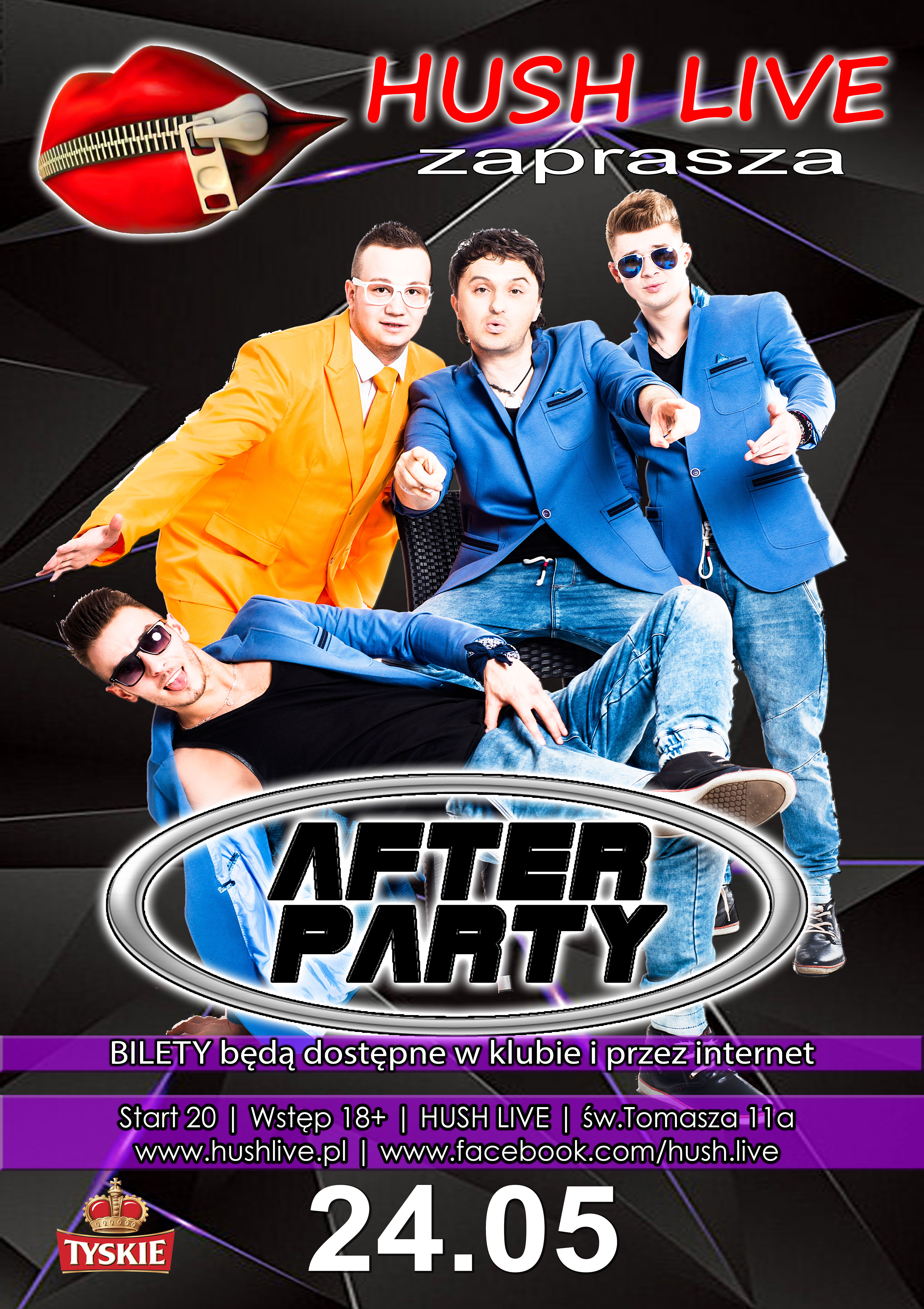 After Party w Hush Live I 24.05.2019